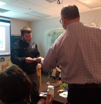 Garrett Stephens - BME Teacher of the Year