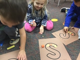 Pre-School letter activities