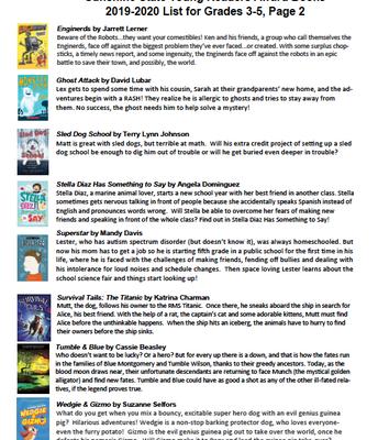 Sunshine State Book List