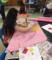 Picasso inspired kites