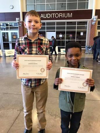 KUSD Kindness Award Winners!
