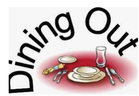 DINE OUT October 7th AND 8th!