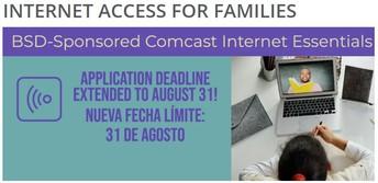 Free Internet - Deadline August 31
