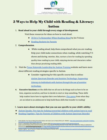 Top 5 Ways to Help My Child with Reading & Literacy