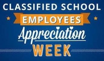 Classified School Employees Week