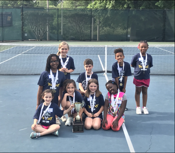 DSES Tennis Team Wins Tournament