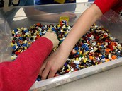 Mom/Son Lego Build