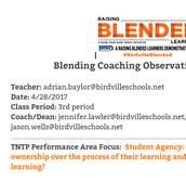 TNTP Coaching Cycles