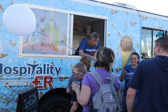 Hospitality Health ER Ice Cream Truck