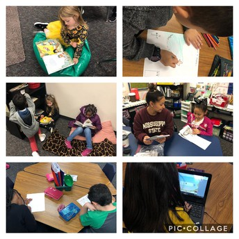 1st grade reading stations