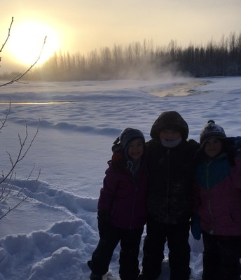Hike to the Susitna