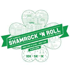 Shamrock 'N Roll Road Race  March 17, 2018