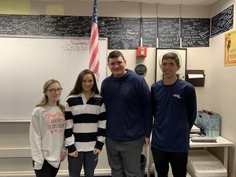 2019-2020 School Committee Student Representatives