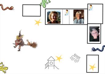 Op zoek naar de opdrachtkaarten op Sint-Janneke!