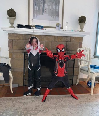 Superhero siblings!