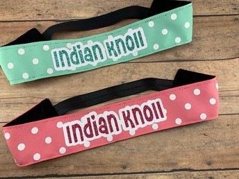 Headbands in Mint or Coral