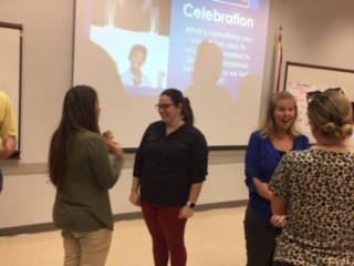 Representatives from each of our schools took time to celebrate their work in SEL at our monthly SEL Cohort Meeting