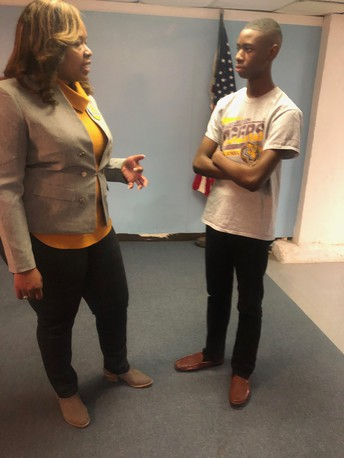 Ballard-Hudson Middle School Junior Leadership Corps. (JLC) In The Community