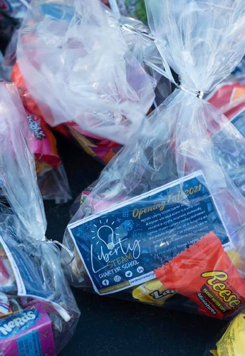 LSC Connects with nearly 700 Families during Halloween Drive-Thru Trick-or-Treat Event
