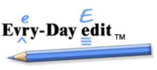 ELA ALERT! Evry-Day Edit