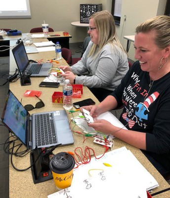 Technology in Motion Professional Learning Groups