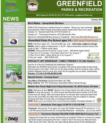 Parks & Rec News :)