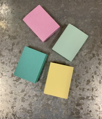 Mini pads of Post-It Notes