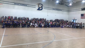 Brock Elementary, BHS Cheer and Tarleton Cheer and Dance Teams!