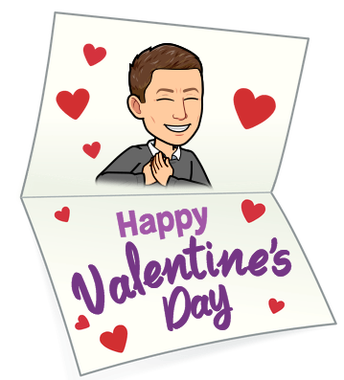 Happy Valentine's Day and President's Day