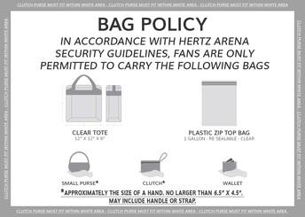 Hertz Arena Bog Policy (graduation location)