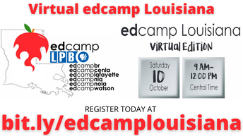 Virtual Edcamp Louisiana