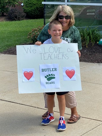 Families Surprise Our Teachers with a Parade!