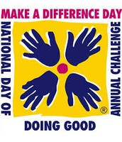 National Make a Difference Day...