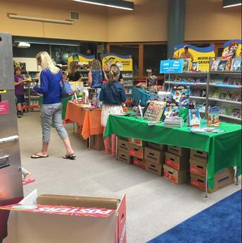 Thank You Book Fair Volunteers!