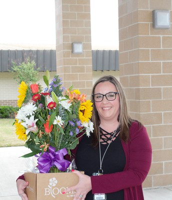 Nicole Vaughn, Paraprofessional of the Year
