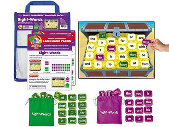 Sight-Words Family Engagement Pack Grades K & 1