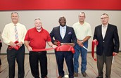 LEE CELEBRATES NEW BAND HALL