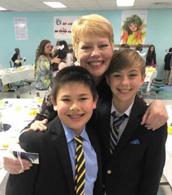 Fifth Grade Tea Photos