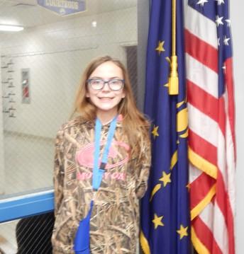 6th Grade Panther Pride Winner
