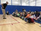 Tom Pease Visits Koenig Elementary!