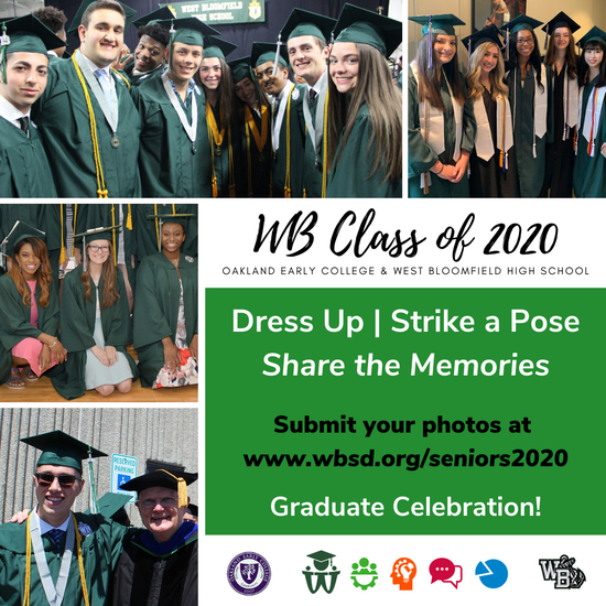 Submit your graduate photos TODAY!