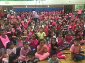 Our Panthers Sea of Pink