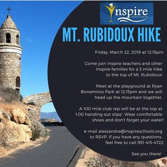 Hike To Mt. Rubidoux!