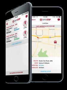 SafeStop App is Working!