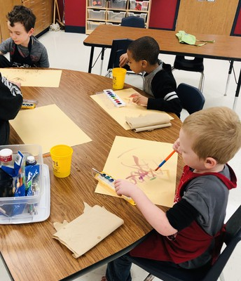 Creating Masterpieces!