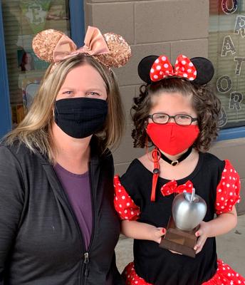 Silver Apple Award! (Mrs. Martin)