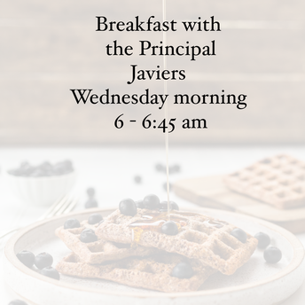 Breakfast with the Principal