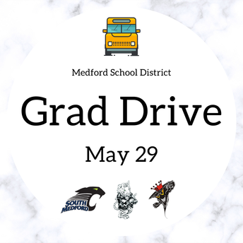 GRAD DRIVE DETAILS FOR THE CLASS OF 2020!