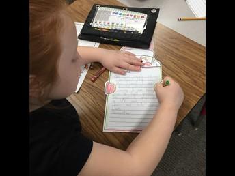 1st Grade Writer