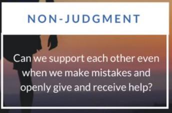 APRIL - Non-Judgement